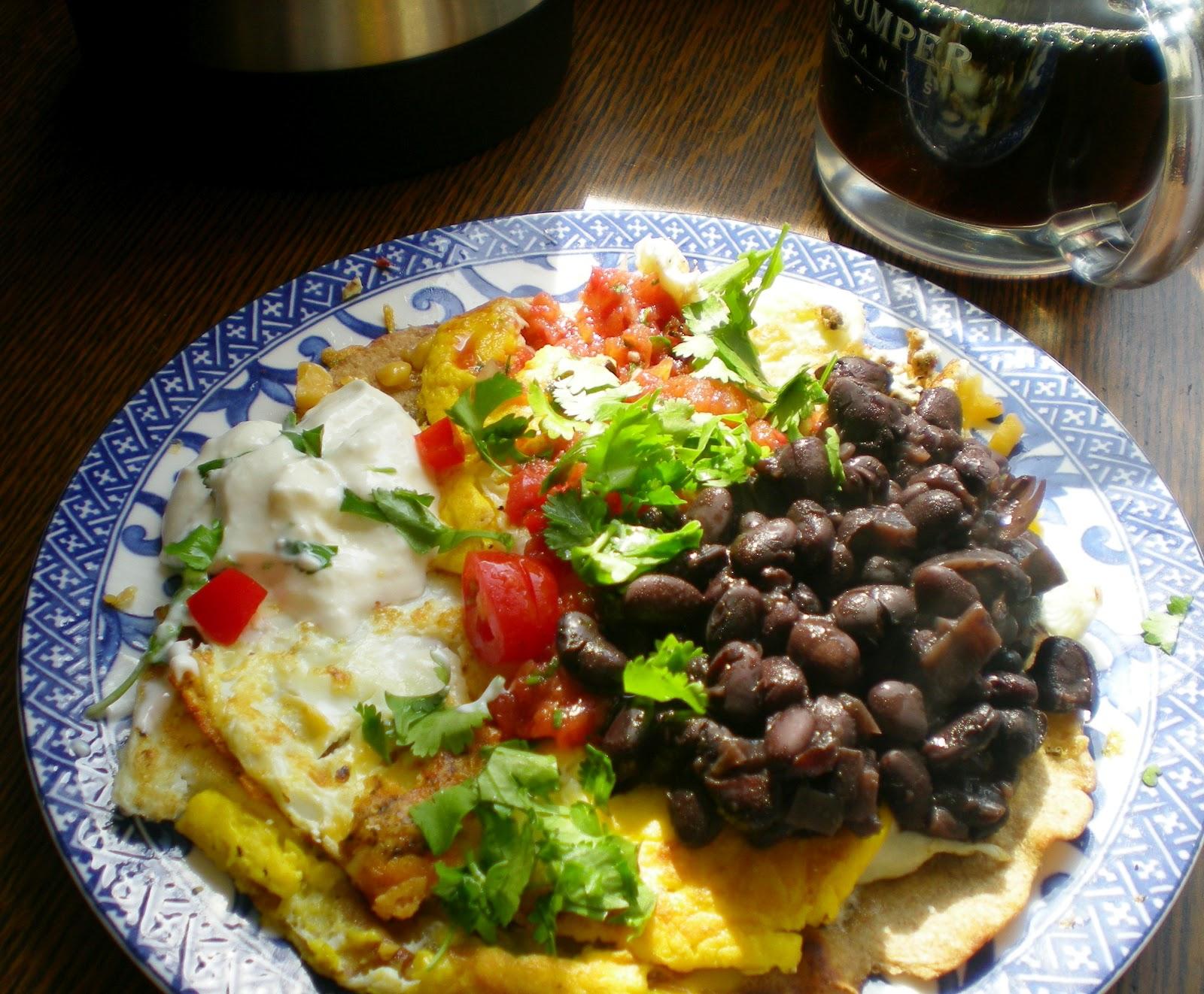 how to make mexican huevos rancheros