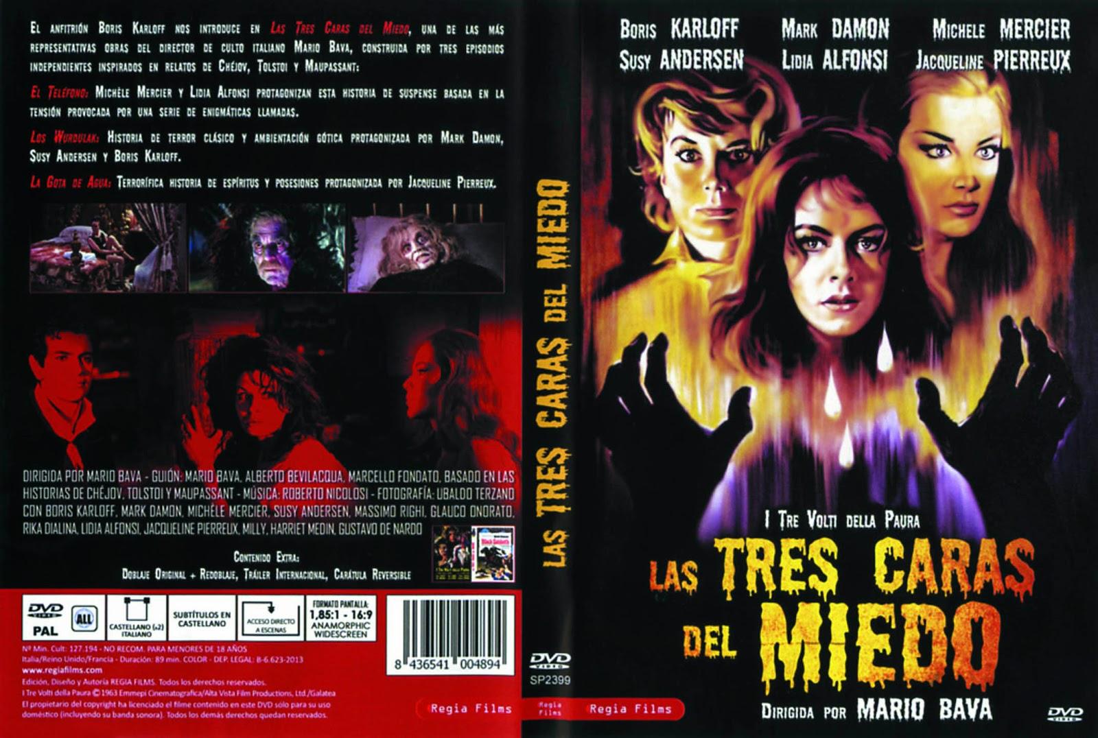 Las tres caras del miedo (1963 - I Tre volti della paura)