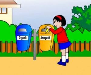 mengajarkan anak tentang sampah