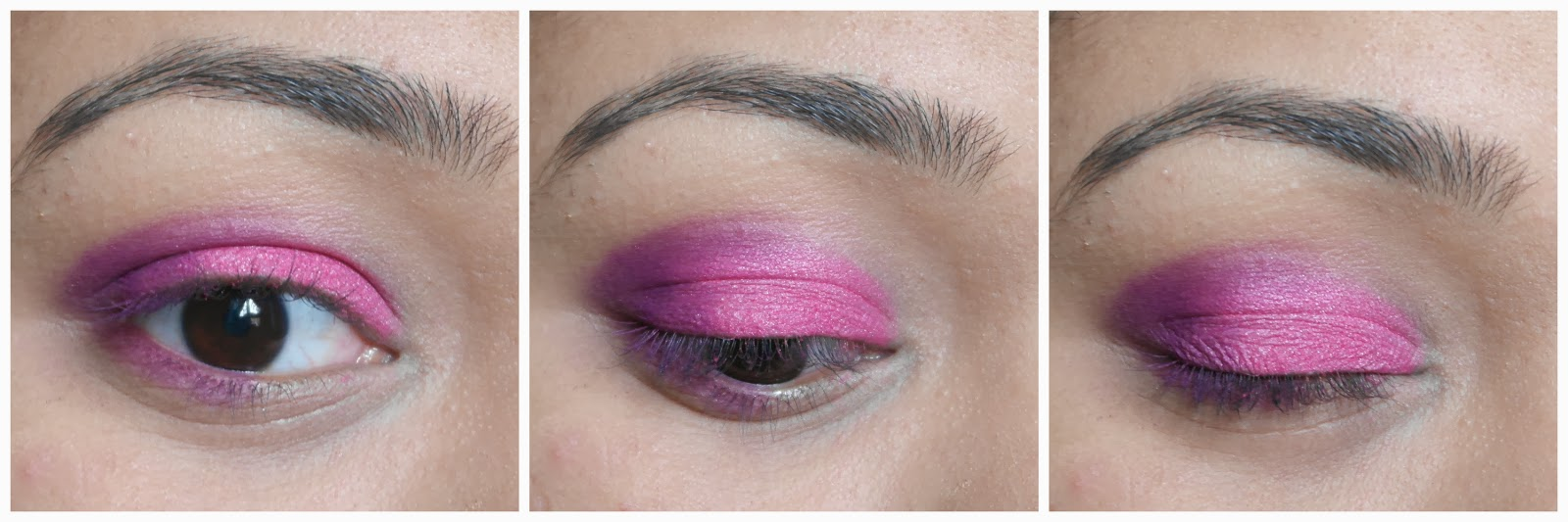 Crease- Blending Brush- Purple Eyeshadow pictures
