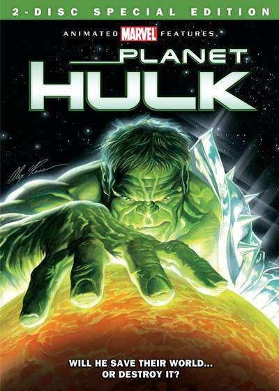 Planet Hulk (2010) DVDRip Español Latino