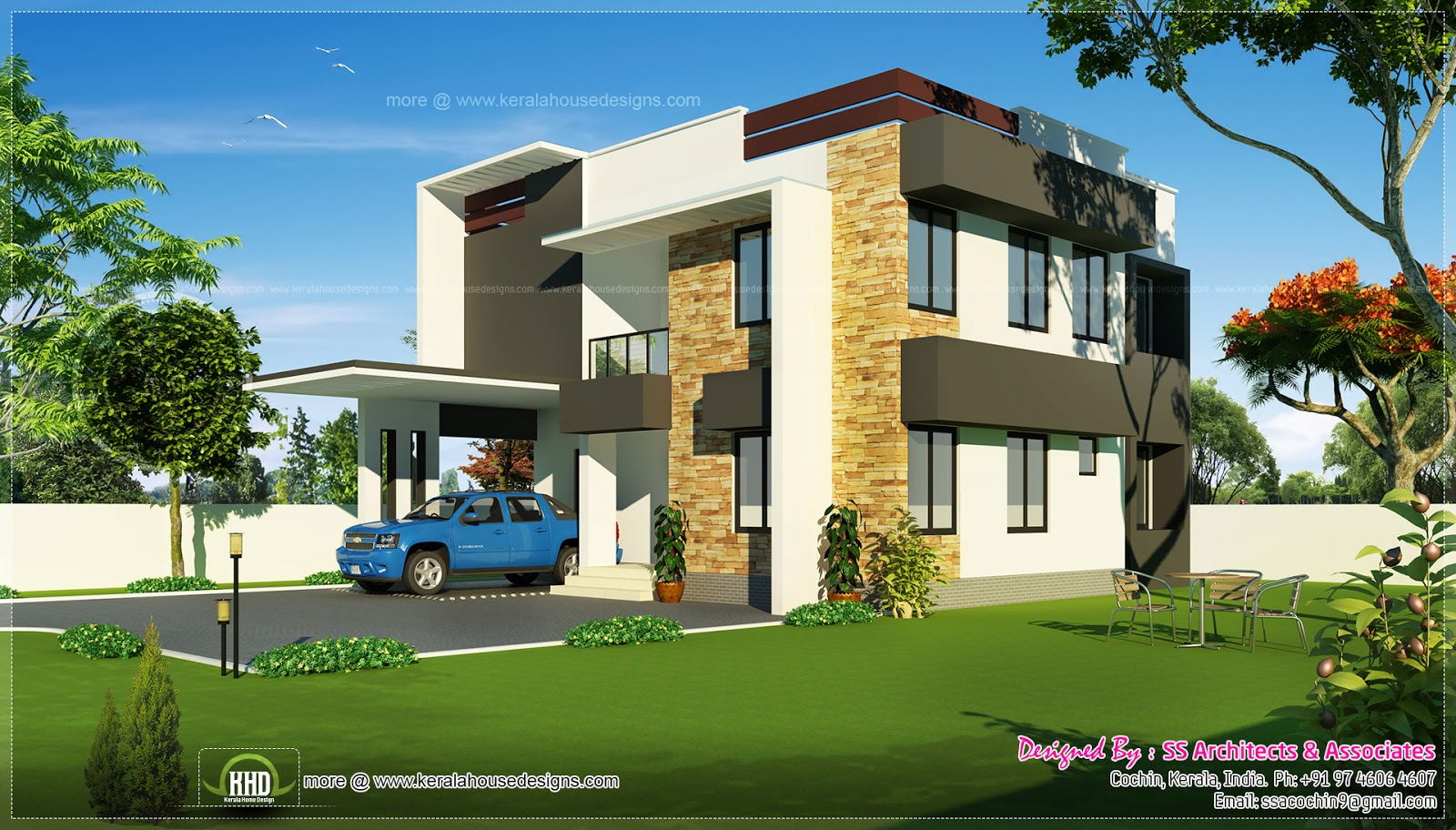 February 2014 house design plans for Pics of modern houses