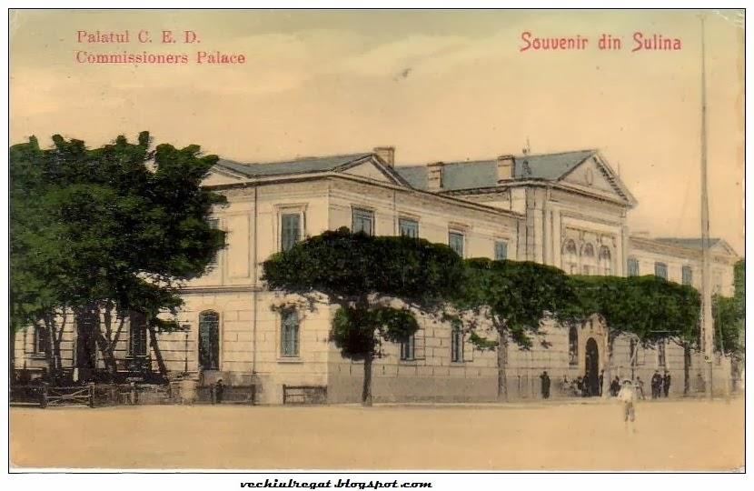 Palatul Comisiei Europene a Dunarii din Sulina de altadata