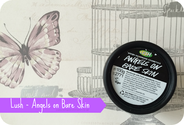 lush angels on bare skin for oily skin