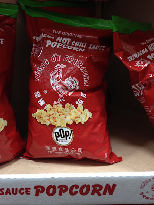 Snack on Siracha Popcorn when watching a movie