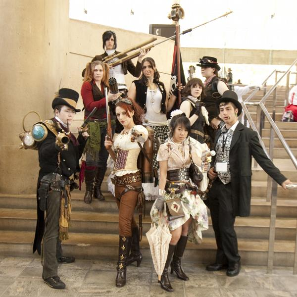 Treasure Seekers Steampunk Wardrobe