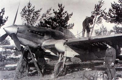 Подготовка одноместного Ил-2