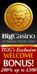 TGG's Exclusive 200% Match Welcome Bonus