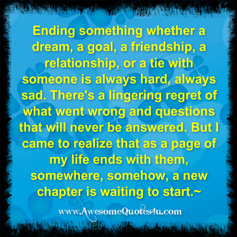 Sad Quotes About Love Ending : Sad Quotes About Friendships Ending. QuotesGram