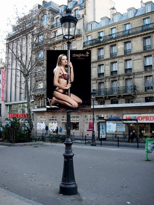 Clever Ads On Street Poles