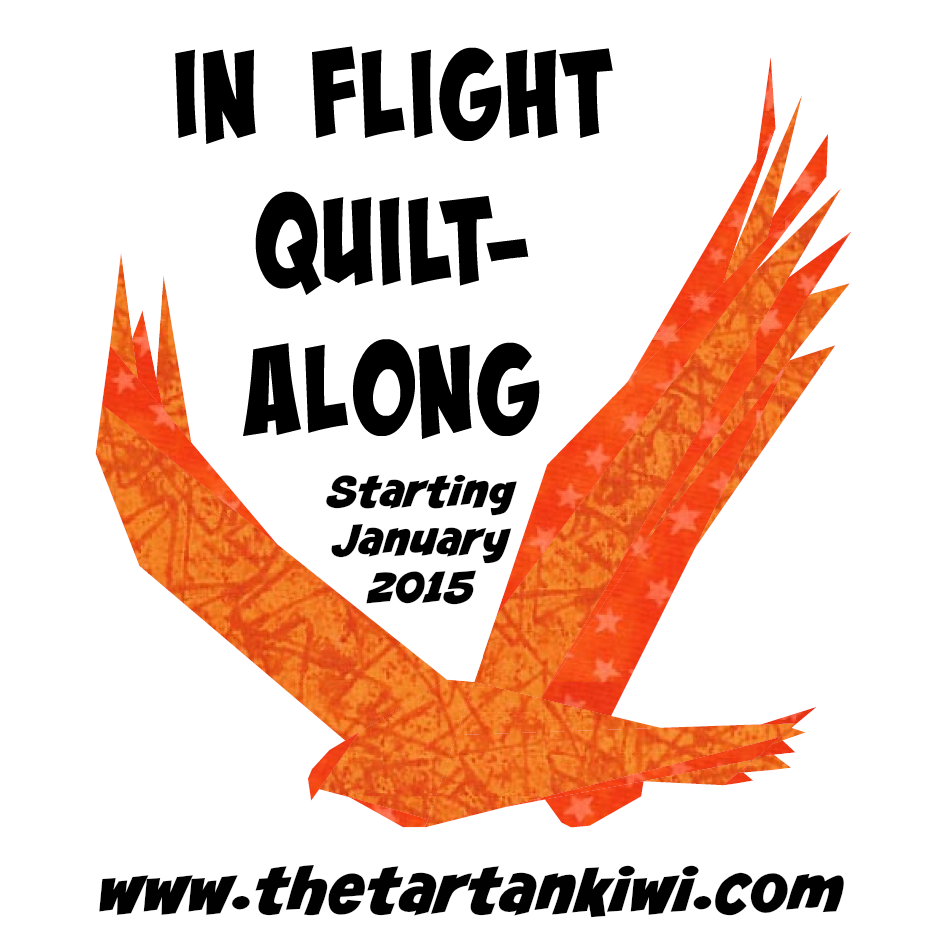 In Flight Quilt Along- Starting January 2015 at The Tartankiwi