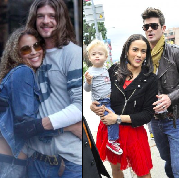 Robin Thicke said wife Paula Patton