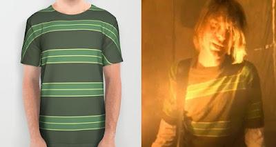 Kurt Cobain Smells like teen spirit T-shirt