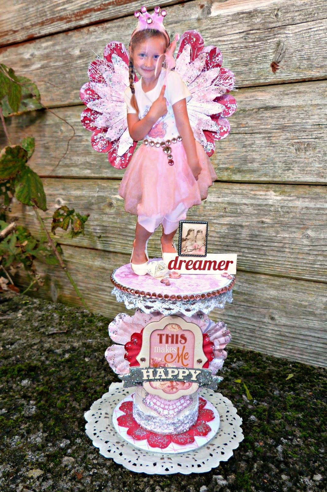 Dreamer Altered Spool by Tracee Provis Madeline Bo Bunny 01
