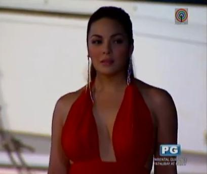 Showbiznest Video Kc Concepcion Sexy Seductive Entrance On Huwag