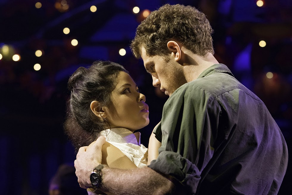 Miss Saigon at the Prince Edward Theatre in London's West End