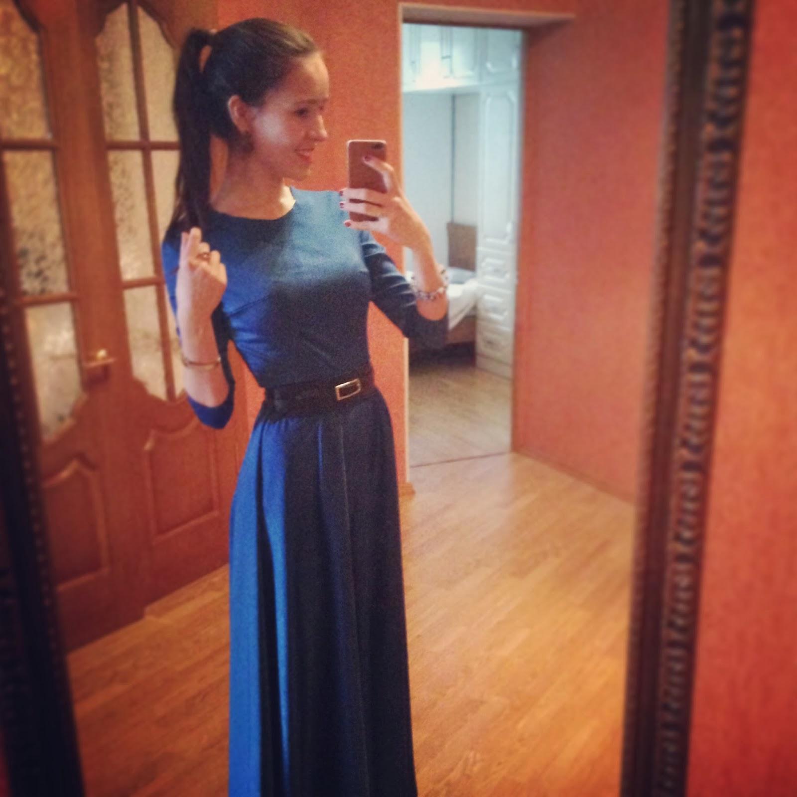Сшит самой длинное платье