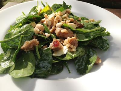 Seitan - Farro Salad