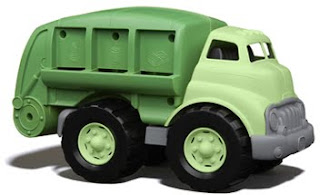 recycled plastic truck toy