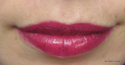 MAC Rebel lip swatch