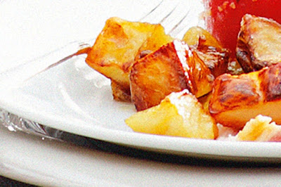 Roasted caramel potatoes Recipe