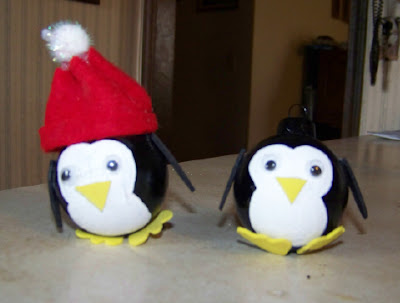 Penguin ornaments 2