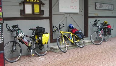 bike tour: do you use rental or personal bicycles?