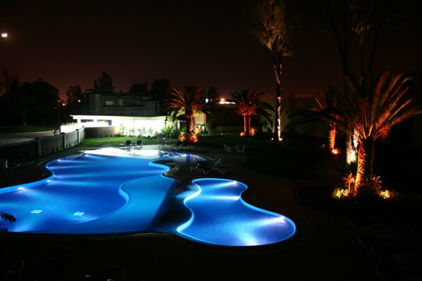 Best swimming pools spas designs april 2011 - Swimming pool lighting design ...