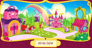 Screencap of Sirona Castle from the Filly toy site.