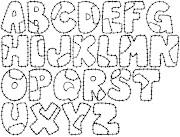 Moldes de letras letras para mural moldes