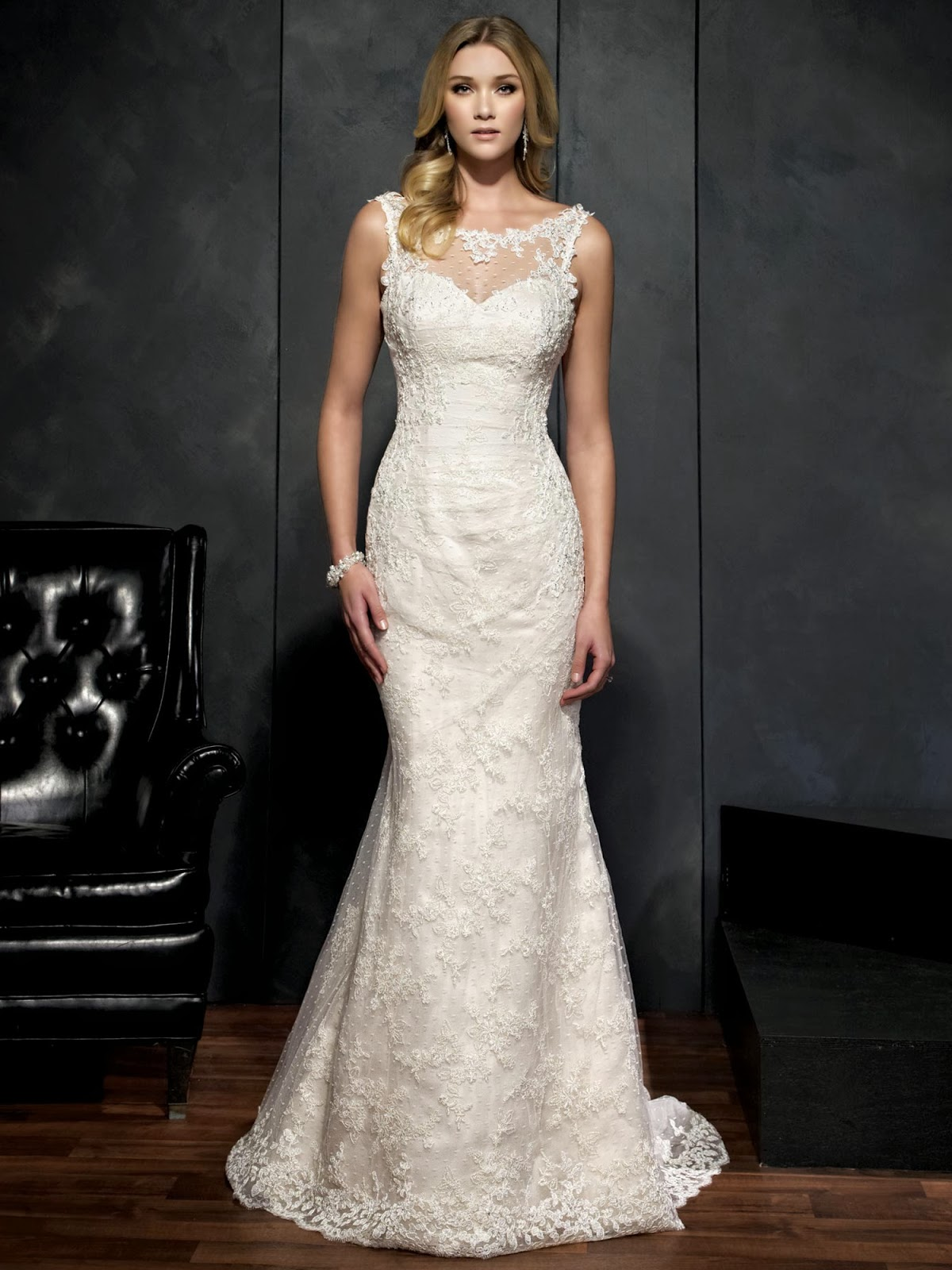 Kenneth winston 2014 spring bridal collection for Kenneth winston wedding dresses