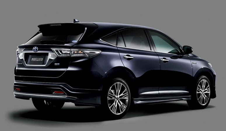 toyota harrier 2014 new model in japan photos gallery