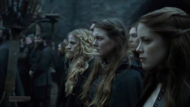 HBO Game of Thrones s05e03: Miranda at Winterfell