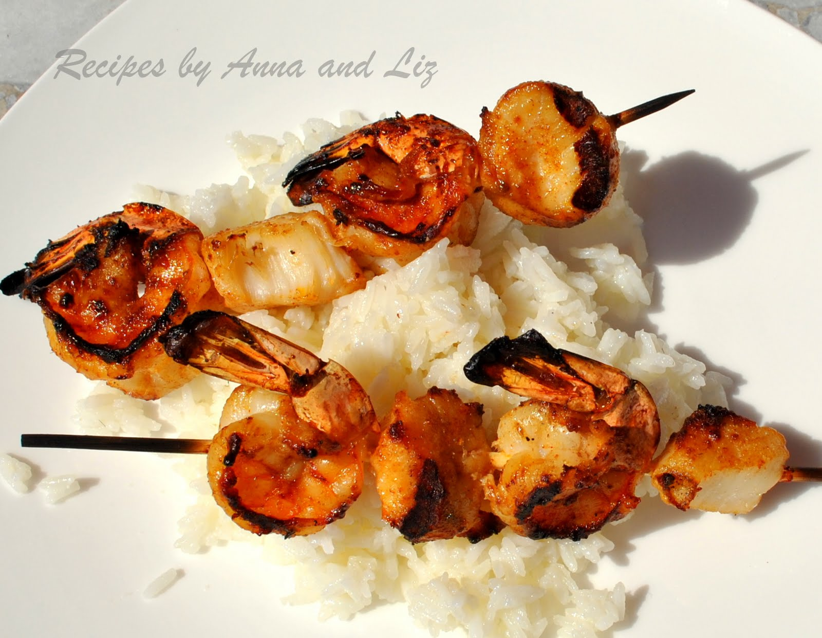 2 Sisters Recipes... by Anna and Liz: Best Grilled Shrimp ...