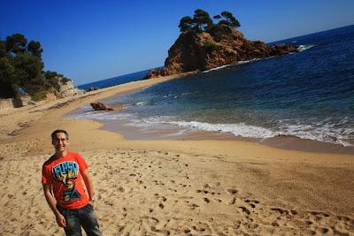 Belladona beach in Platja d'Aro