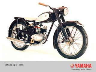 Motor Produksi Pertama Yamaha