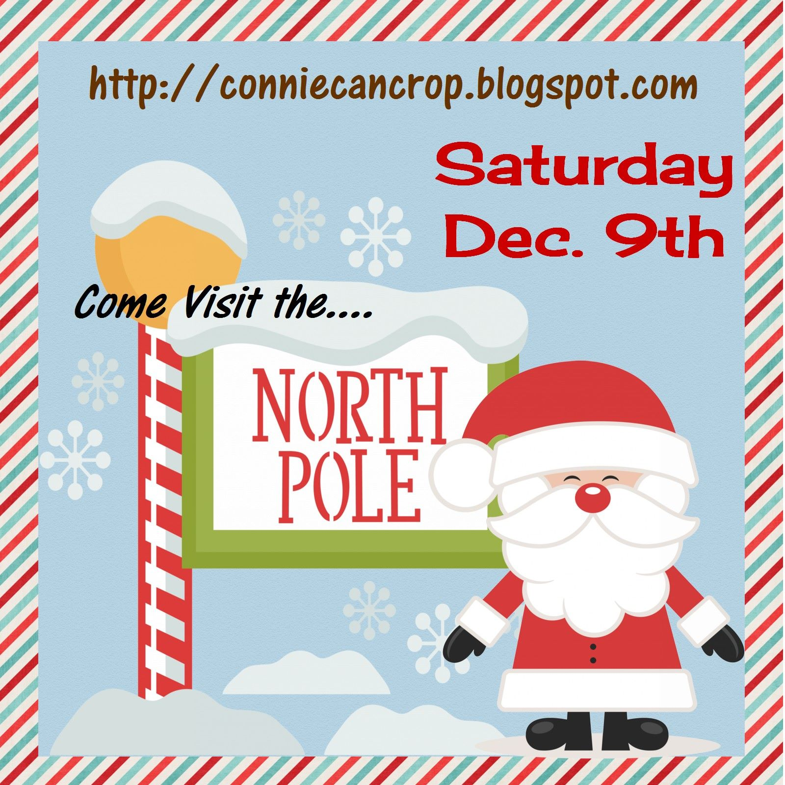 Come Visit the North Pole Blog Hop