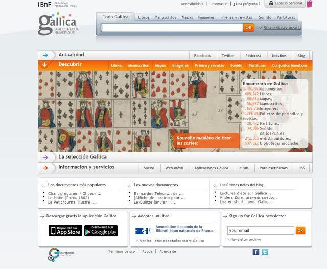 http://gallica.bnf.fr/?&lang=ES