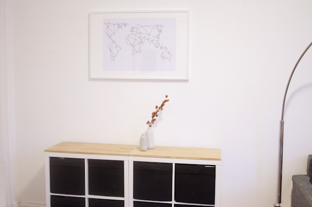 Kallax Ikea Hack als Sideboard