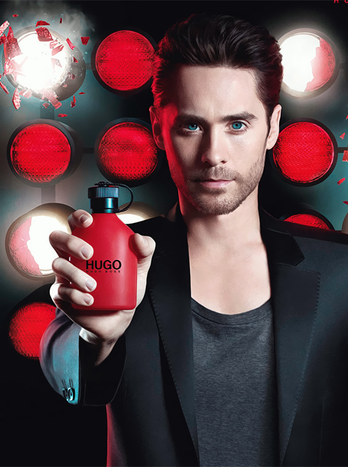 let the music play jared leto hugo boss red commercial. Black Bedroom Furniture Sets. Home Design Ideas