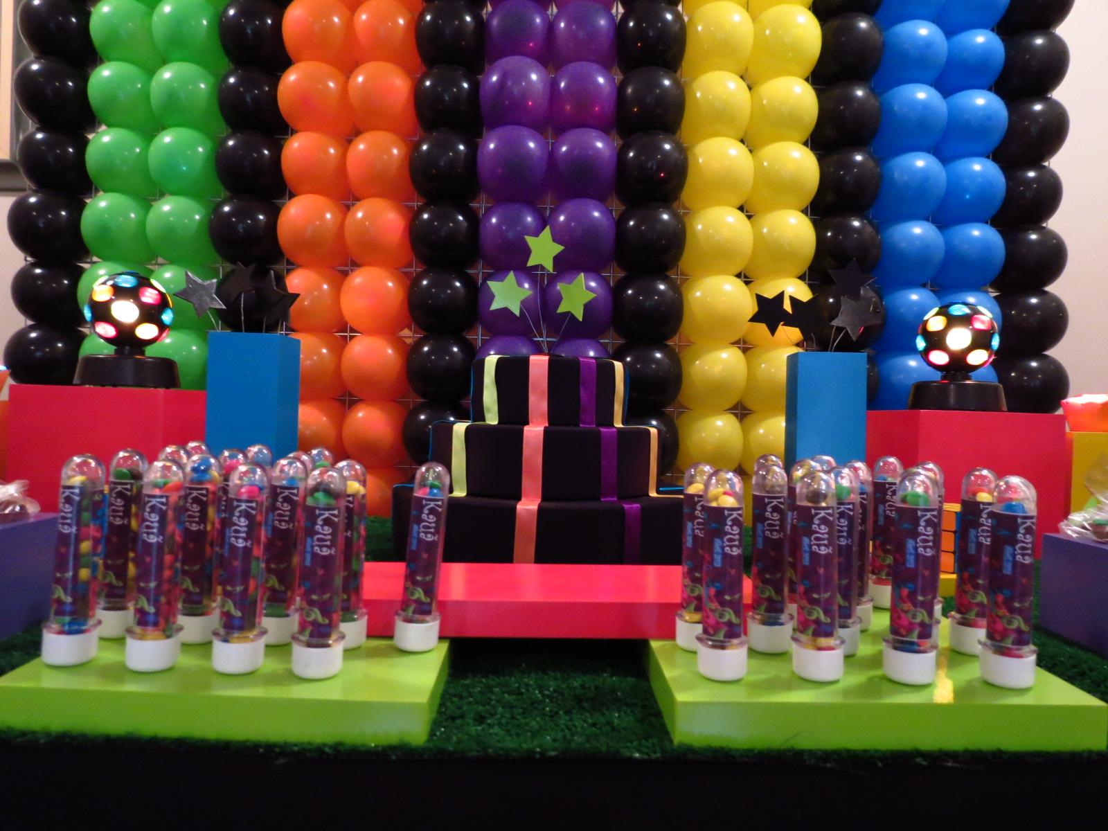 decoracao festa balada infantil:Farolita Decoração de Festas Infantis: BALADA TEEN