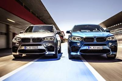 BMW X5 M si BMW X6 M