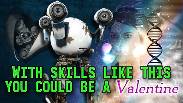 With skills like this you could be a valentine