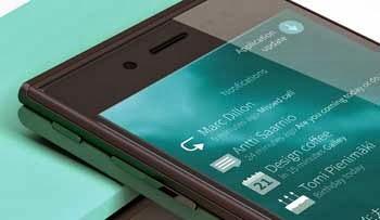 Smartphone Jolla dengan OS Sailfish