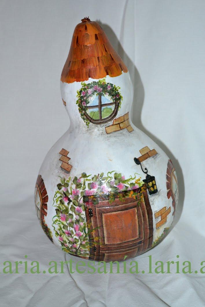 Artesan a laria calabaza decorada decoupage - Calabazas decoradas manualidades ...