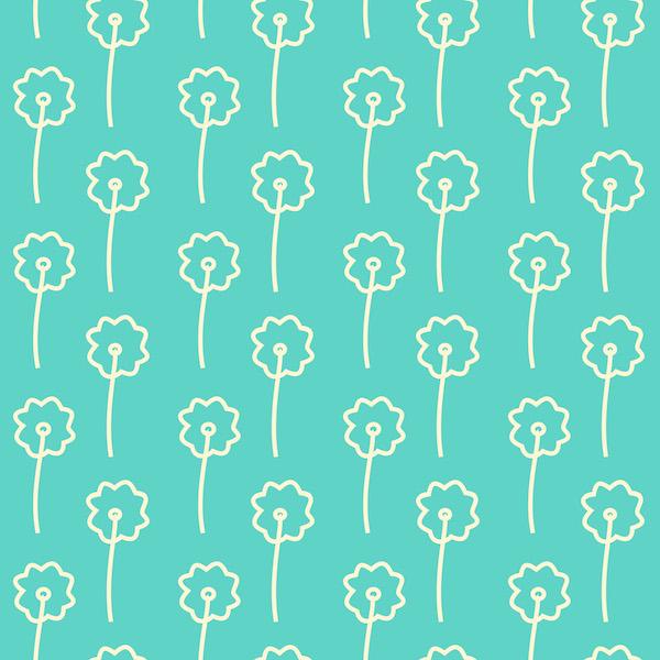 Free digital floral scrapbooking paper - ausdruckbares Geschenkpapier ...