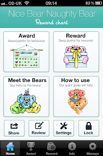 Nice Bear Naughty Bear iPhone / iPad App