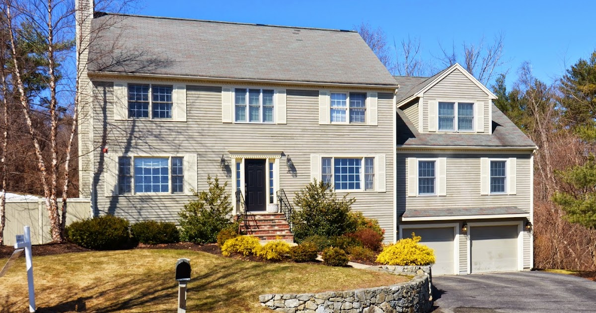Real Estate & More on the North Shore! : Danvers Colonial with inviting pool -- just in time for ...