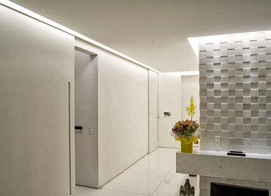 Gesso na casa1001 utilidades!  DecorSalteado -> Nicho De Banheiro De Gesso