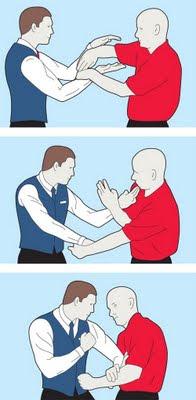 Jurus Chi Sau dalam kung fu Wing Chun